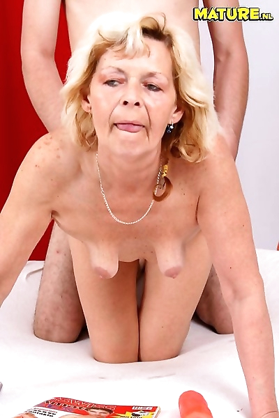 She loves it doggy style -..