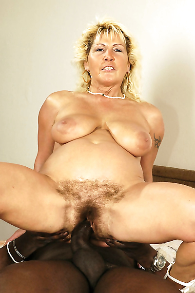 Busty granny lady banged her..
