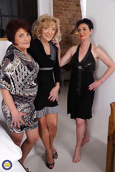 Three naughty mature ladies..