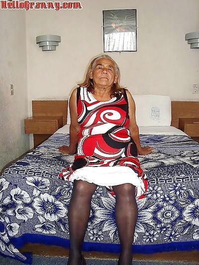 Crazy granny wilfreda is..