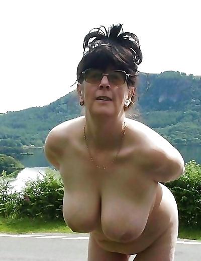 Amateur grannies showing off..