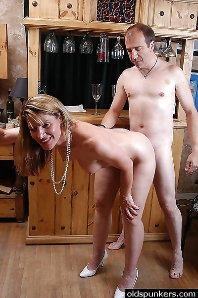 Sexy senior swinger slut -..