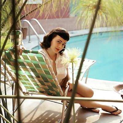 Vintage babe Virginia Gordon..