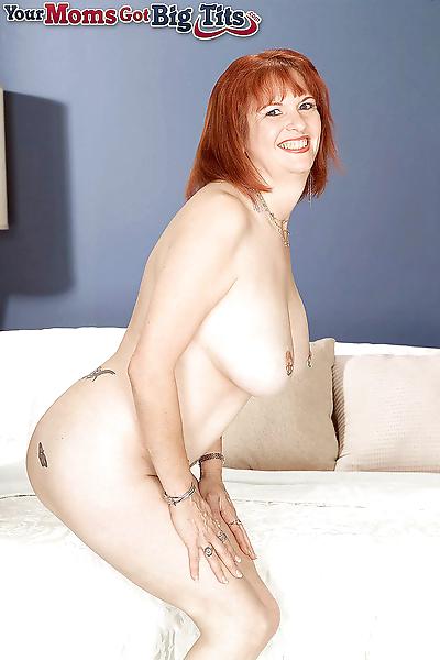 Busty redhead mom oral angie..