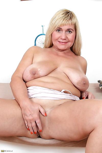Big breasted housewife..