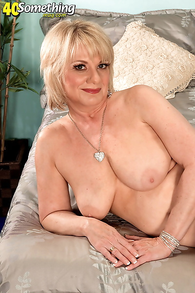 Hot old granny doffs sheer..