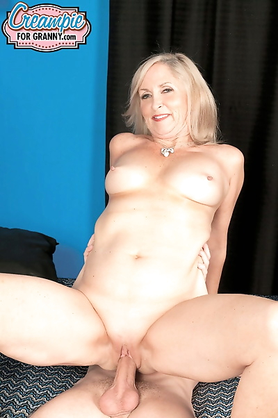 Mature in stockings Connie..