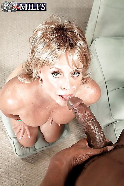 Blonde grandma Lexi McCain..