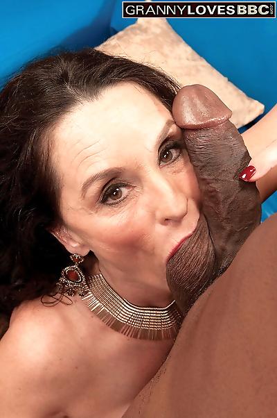 Older woman Rita Daniels..
