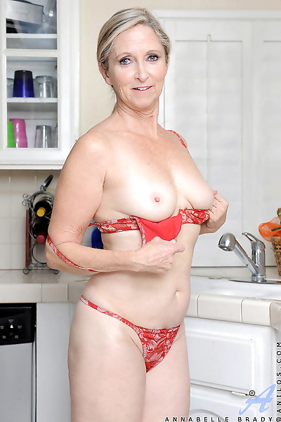 Mature housewife Annabelle..