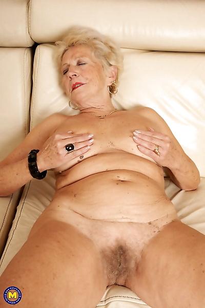 Slutty granny Marina T..