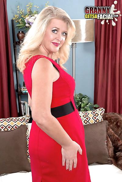 44-year-old blonde Kay..