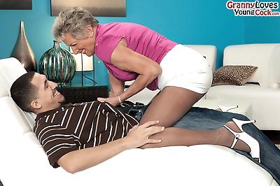 Over 70 granny Sandra Ann..