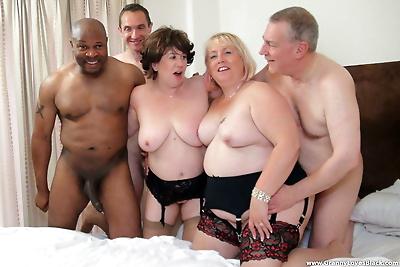 Kinky chubby grannies Auntie..