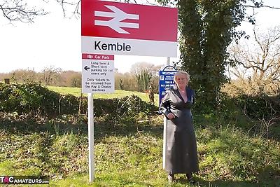 Granny Claire Knight wears a..