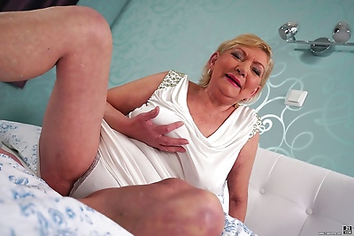 Thick grandmother Irene..