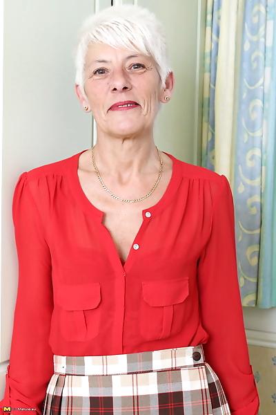 Over 70 Bristish granny..