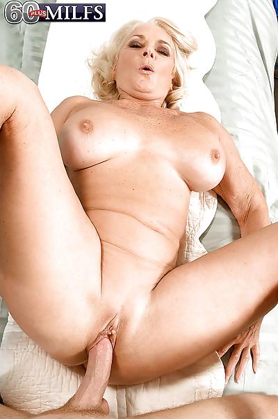 Kinky granny goes hardcore..