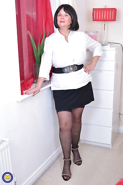 Curvy mature lady from the..