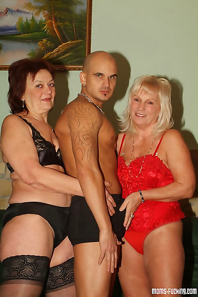 Real grannies get naked and..