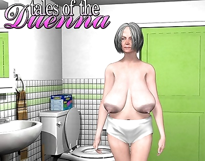 Granny hairy pussy in shower..