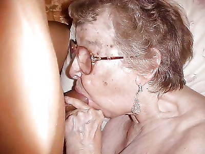 Nasty grannies making fun -..