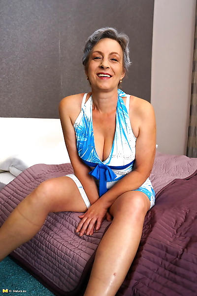 This horny mature lady loves..