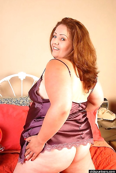 Chubby mature big tits..