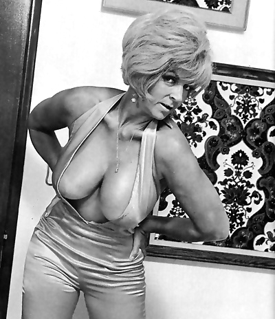 Busty vintage chick candy..