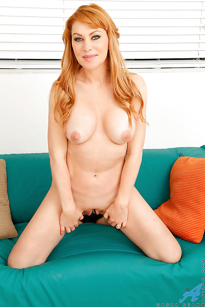Fully clothed redhead mom..