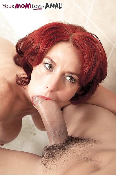 Hot older redhead Karen..