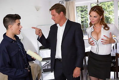 Horny mother Tarra White and..