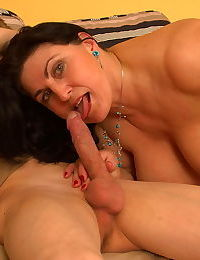 Horny big breeasted slut sucking and fucking - part 2185