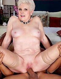 Hoy blonde granny loves hard cocks - part 545