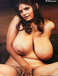 Big tits vintage queens posing - part 513