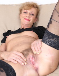 Mature ladies Violet and Lilla hookup with a couple of big black cocks