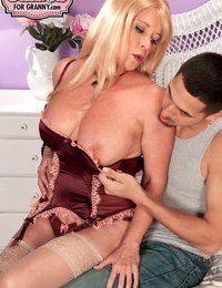 Sexy mature lady Lexi McCain has her pussy filled with sperm by Latino lover